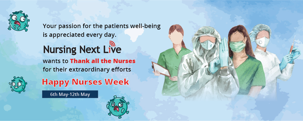 National Nurses Week website banner
