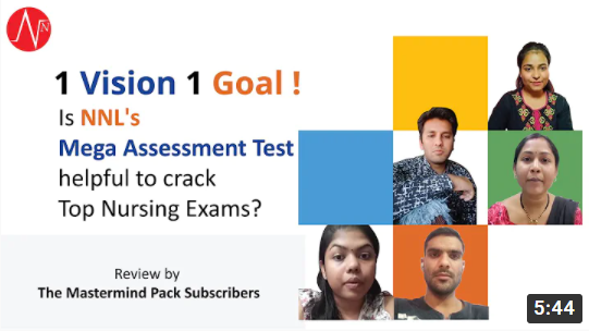 Is Mega Assessment Test of NNL helpful to crack AIIMS NORCET 2021 Review