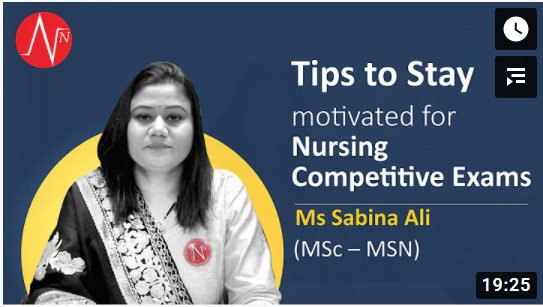 Watch Ms Sabina Ali sharing tips to stay motivated for Competitive Exams